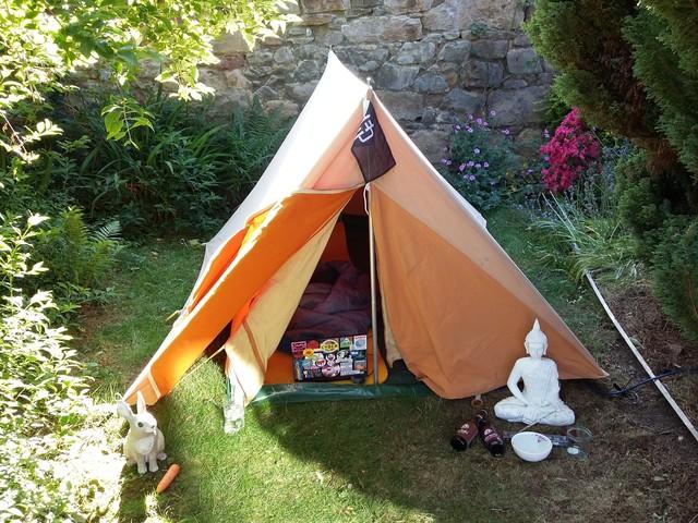 My CampGNDd hacker campsite