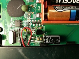 Aneng AN8009 Multimeter Capacitor Upgrades