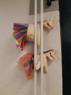 Gary the Unicorn. This consular unicorn from Aberdeen made it all the way to FRACK in Leeuwarden!